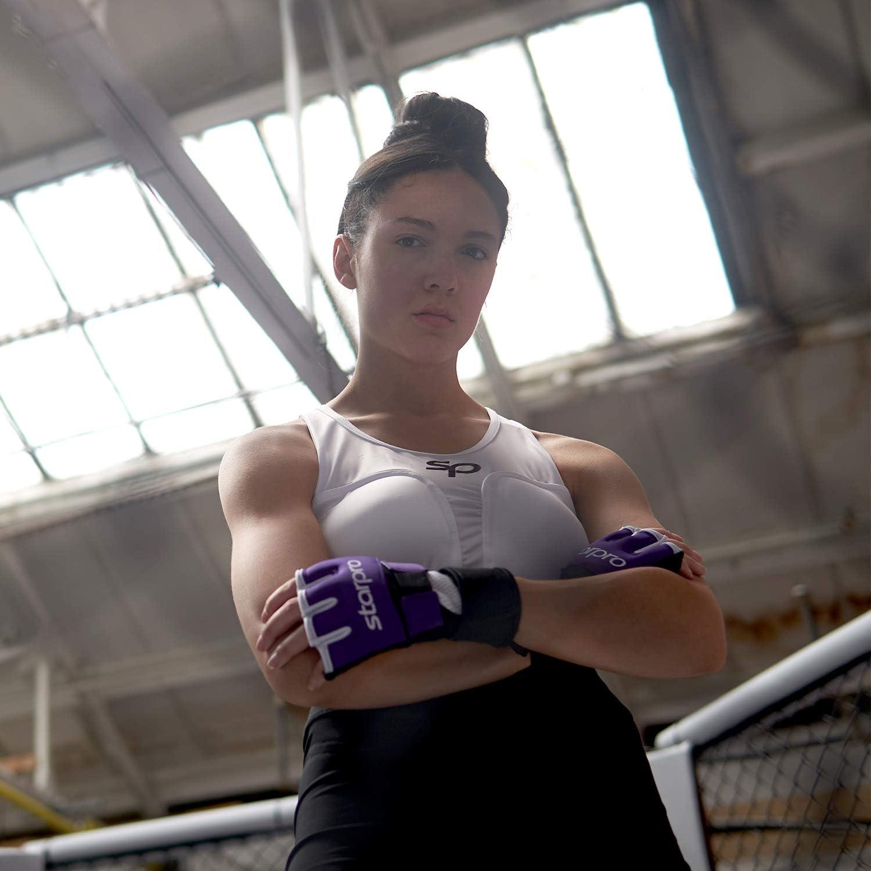 Starpro Boxen Boxbandagen Innenhandschuhe Daumenschlaufe Muay Thai Kickboxen MMA Elastische Gel-gepolsterte Handschuhe f/ür M/änner und Frauen