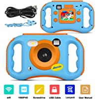 AMKOV WiFi Digital Camera for Kids