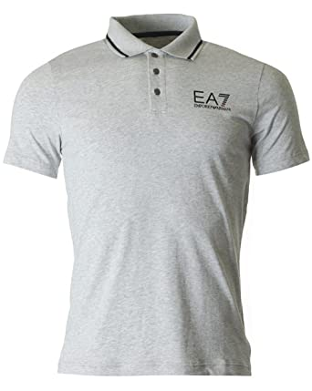 Ea7 Train Core Id Short Sleeved Polo XXXL GREY: Amazon.es: Ropa y ...