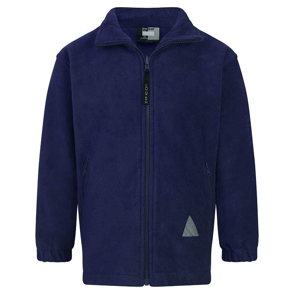 Zeco School Uniform Unisex Girls Boys Polar Fleece Jacket