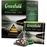Greenfield Royal Earl Grey Pyramid Collection 20 Pyramids In Special Foil Sachets Black Tea Finely Selected Speciality…
