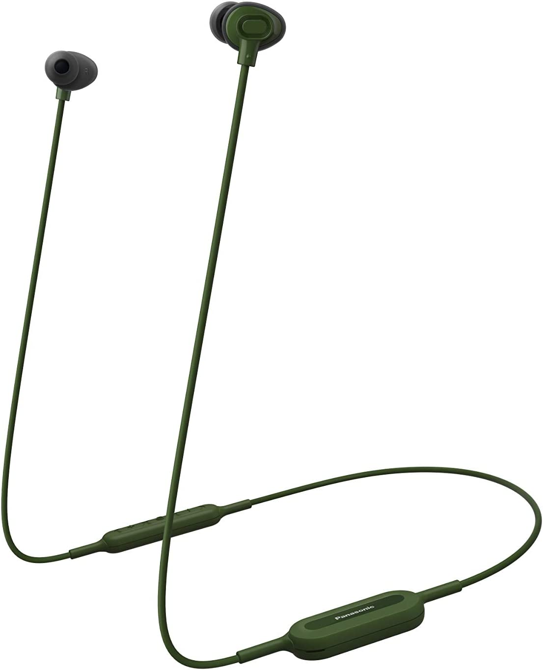 Panasonic RP-NJ310B – Auriculares inalámbricos (In-Ear, Bluetooth, 6hrs de batería, Manos Libres, Control Voz, Carga rápida, Ergo fit Plus, Carga por USB) Color Verde