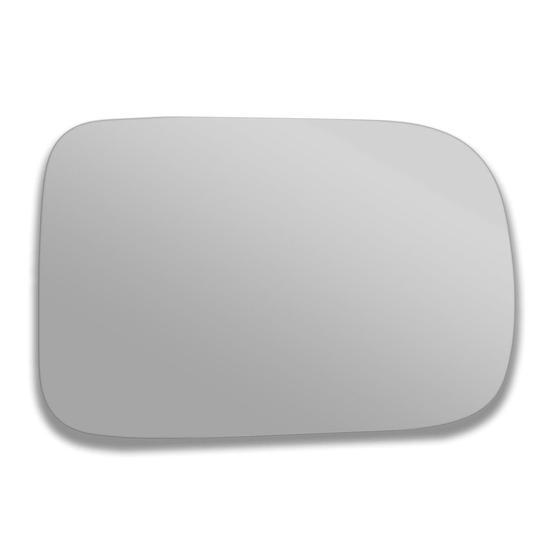 Doram porte Stick On Miroir de remplacement c/ôt/é conducteur Quick Fix Argent # Dora-10//15-r /_ C v/éritable verre c/ôt/é droit R/étroviseur