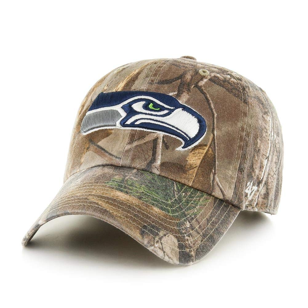 46a3b75d '47 Brand Seattle Seahawks NFL Realtree Camo Clean Up Cap