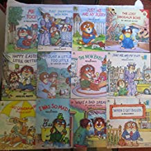 Little Critter Books (12) Me Too; Just Me and My Puppy; The Lost Dinosaur Bone; Happy Easter; Just a Little too Little; The New Baby; Just Shopping with Mom; Just Me and My Mom; When I Get Bigger; What a Bad Dream; I was So Mad; Just Grandma and Me