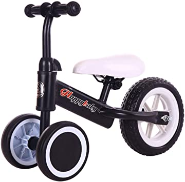 Hejok Bicicleta Triciclo, Kids Trike Girls 1-3 Toddlers Children Ride On Pedal Trike Bike Smart Nuevo DiseñO Baby Tricycle, Black: Amazon.es: Deportes y aire libre