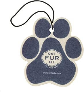 product image for One Fur All Pet House Car Air Freshener, Pack of 4 – Moonlight - Non-Toxic Auto Air Freshener, Pet Odor Eliminating Air Freshener for Car, Ideal for Small Spaces, Dye Free Dog Car Air Freshener