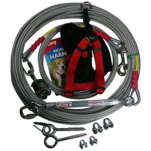 Freedom Aerial Dog Runs Trolley Comfort Harness FADR-200SD-CH