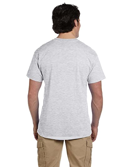 fb2d6b79 Amazon.com: Fruit of the Loom Men's 6-Pack Stay Tucked Crew T-Shirt ...