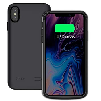 Funda Batería iPhone XS Max, Charging Case 6000mAh ...