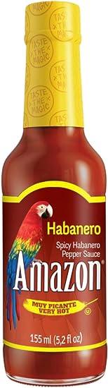 Amazon Salsa Habanero Muy Picante - 155 ml