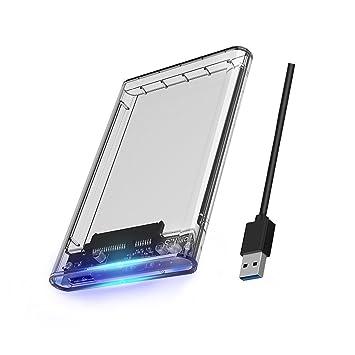 ORICO disco duro externo USB 3.0 caja externa para disco duro SSD (2,5 pulgadas, SATA III HDD y SSD, Soporte UASP y 2 TB: Amazon.es: Electrónica