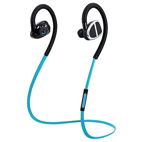 Auriculares Bluetooth 3 Efectos de Sonido Rymemo Auriculares Inalámbricos Audifonos Deportivos con Micrófono para Correr Cascos
