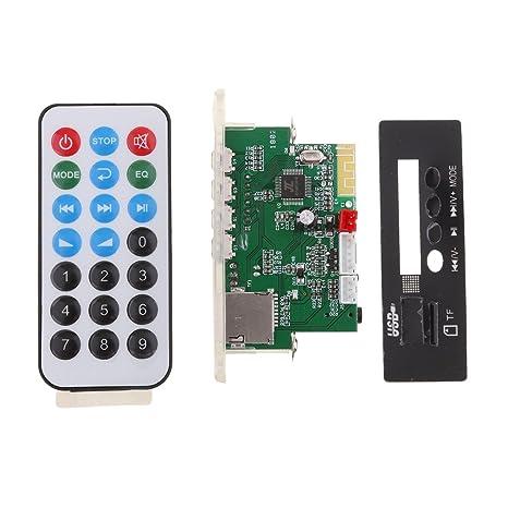 IPOTCH 1 pc Módulo de Audio de Placa de Decodificador Mp3 ...