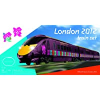 Hornby R1153 London 2012 Electric trainset with 3 car Hitachi Javelin in London 2012 Olympics/Paralympics purple livery.