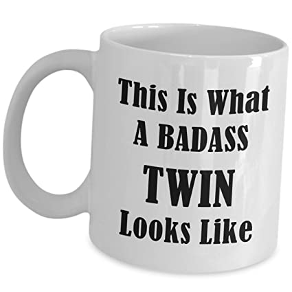 Funny Cute Coffee Mug Gag Gifts For Twin Brother And Sister