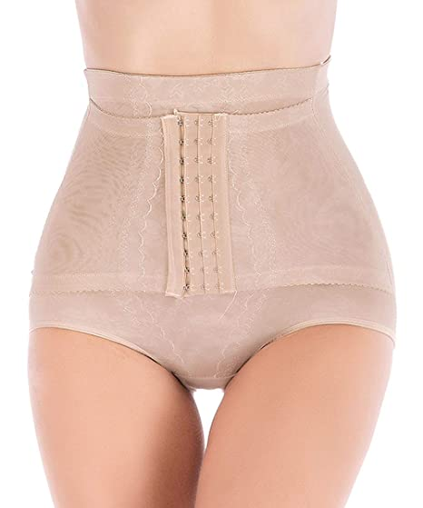 13f31aed48 DODOING Women Butt Lifter Shapewear Hi-Waist Tummy Control Body Shaper  Shorts Waist Trainer Panty at Amazon Women s Clothing store