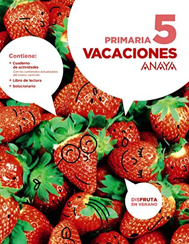 E.P.-VACACIONES 5� (2016) (INC.LECTURA + SOLUCIONARIO)