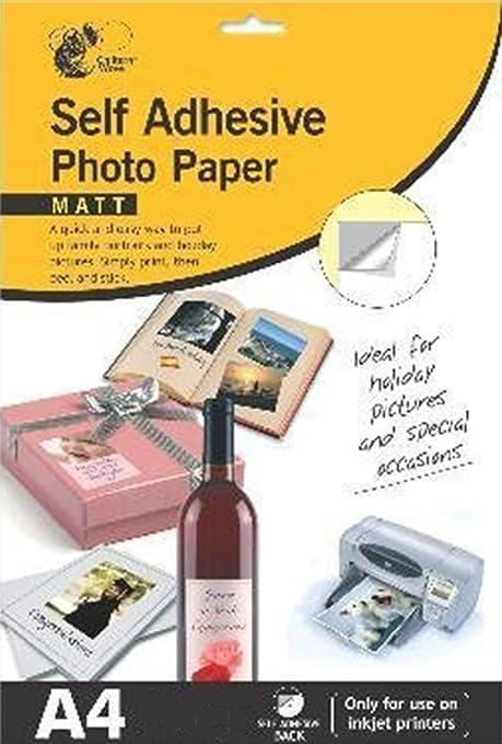 Autoadhesivo Mate Papel Fotográfico, Imágenes, Fotos: Amazon.es ...