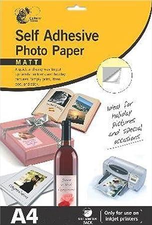 Autoadhesivo Mate Papel Fotográfico, Imágenes, Fotos
