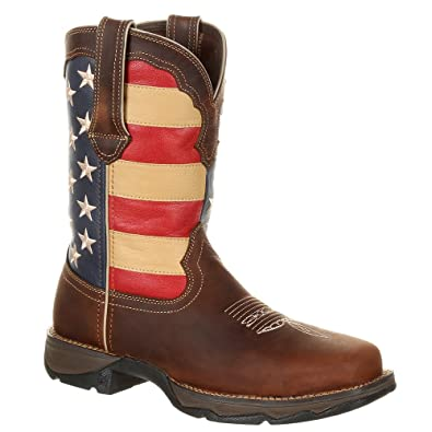 Durango Lady Rebel Flag Steel Toe Y2XFoyv
