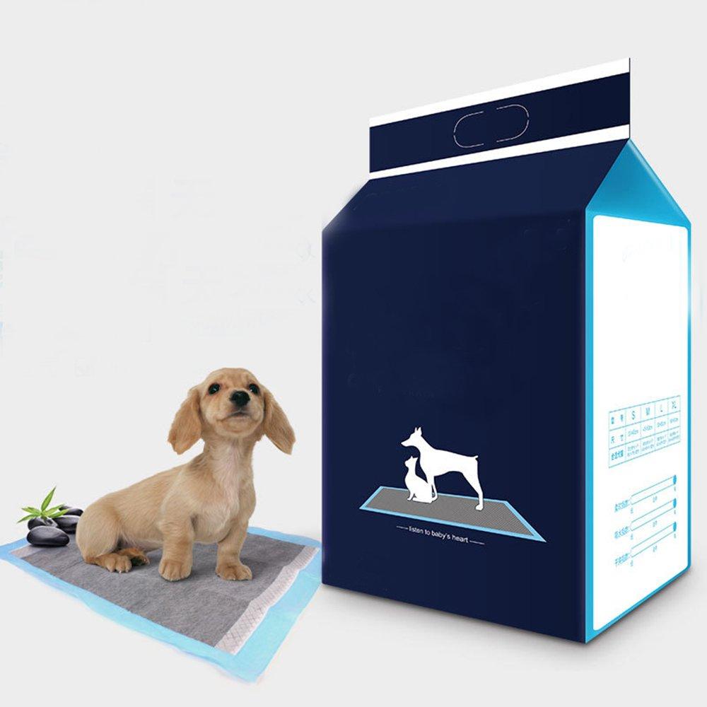 LA VIE 42 Unidades Unidades Empapadores de Entrenamiento para Perro Cachorro M: Amazon.es: Productos para mascotas