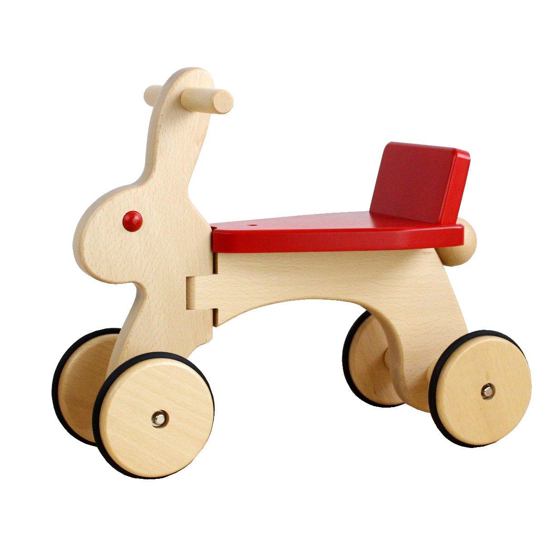 【日本製木のおもちゃ】のりもの*ラビット   B003BT6Q2S