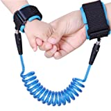 Wimaha Child Harness, Steel Wire and Cotton Wrist Strap (1.5m, Blue)