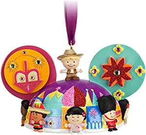 Disney Parks Its a Small World Mickey Mouse Ears Hat Ornament