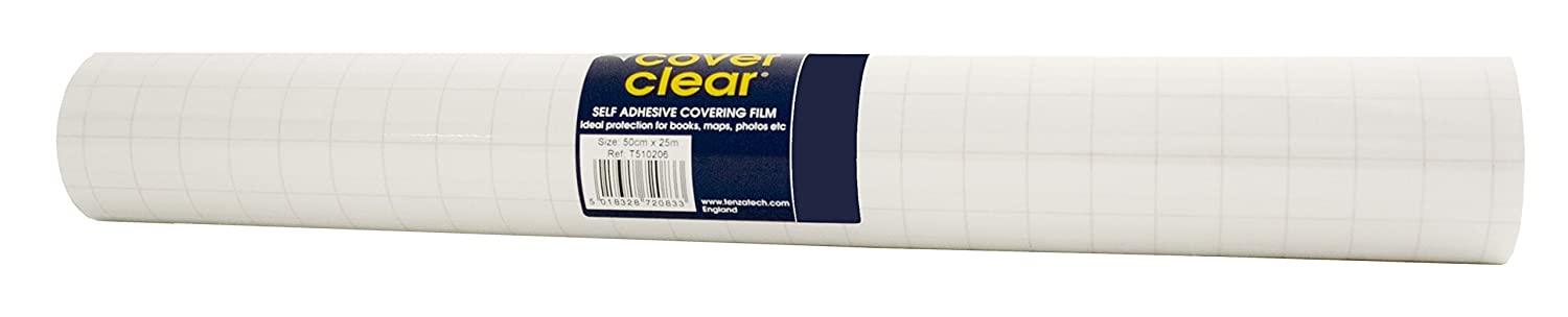 Tenza Technologies Cover Clear Covering Film Matt Finish 500mmx25m Ref EG50025M-60 OfficeCenter 329138