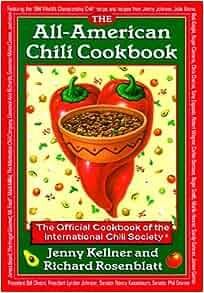 All-American Chili Book: Int'l Chili Society: 9780688136932: Amazon ...
