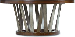 Hooker Furniture Lorimer Round Cocktail Table in Warm Brown