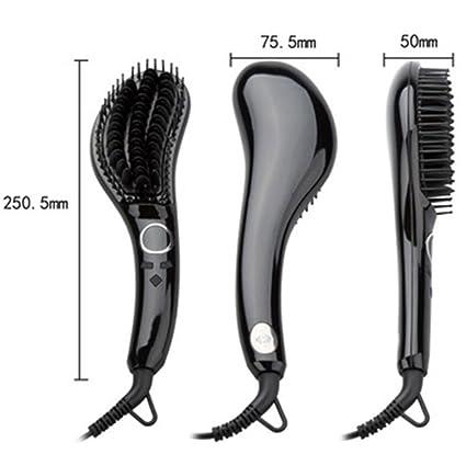 Focus JINRI/JR-803 - Cepillo alisador de Pelo para Mujer y Niña, Plancha Eléctrica: Amazon.es: Hogar