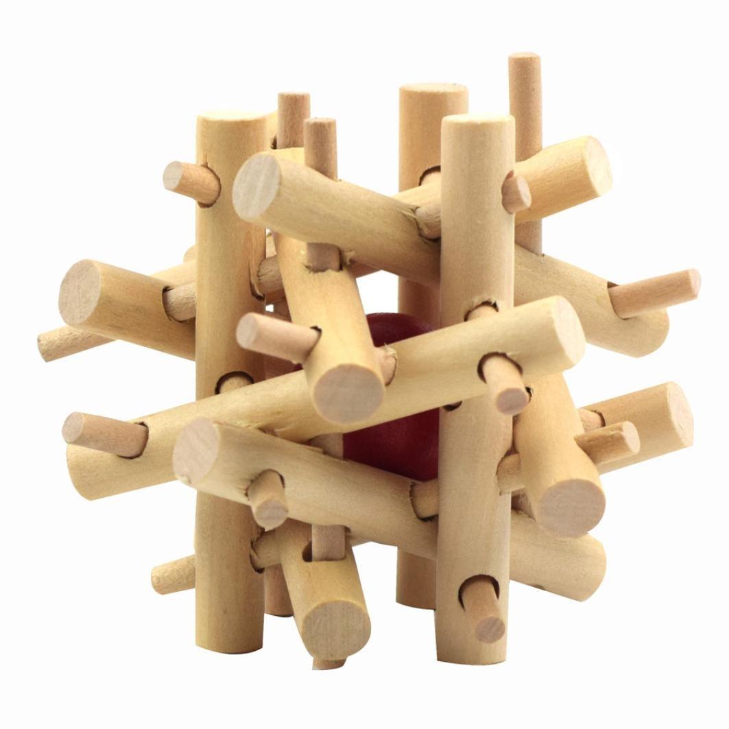 魅力の Tiean新しい3d木製インテリジェンスおもちゃChinese Brain Brain TeaserゲームIQパズルforキッズ大人 P B077SF4VC1 P B077SF4VC1, アテーネ:bfc13fc5 --- clubavenue.eu