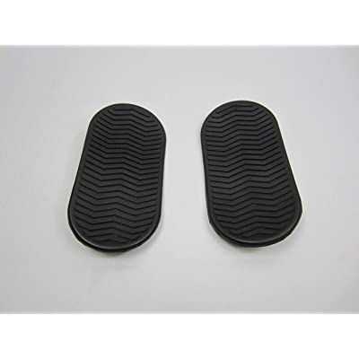 Kandi Foot Rubber Pads (Pair), Roketa GoKarts : Sports & Outdoors