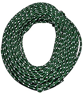 Nite Ize RR-04-50 Reflective Rope Pack-50 FT, 50 Feet, Green