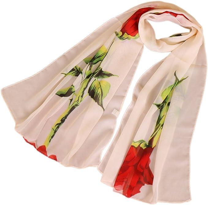 Nouveau Pretty Colorful Long Doux Femmes Filles fashion en mousseline de soie écharpe Wrap Châle étole