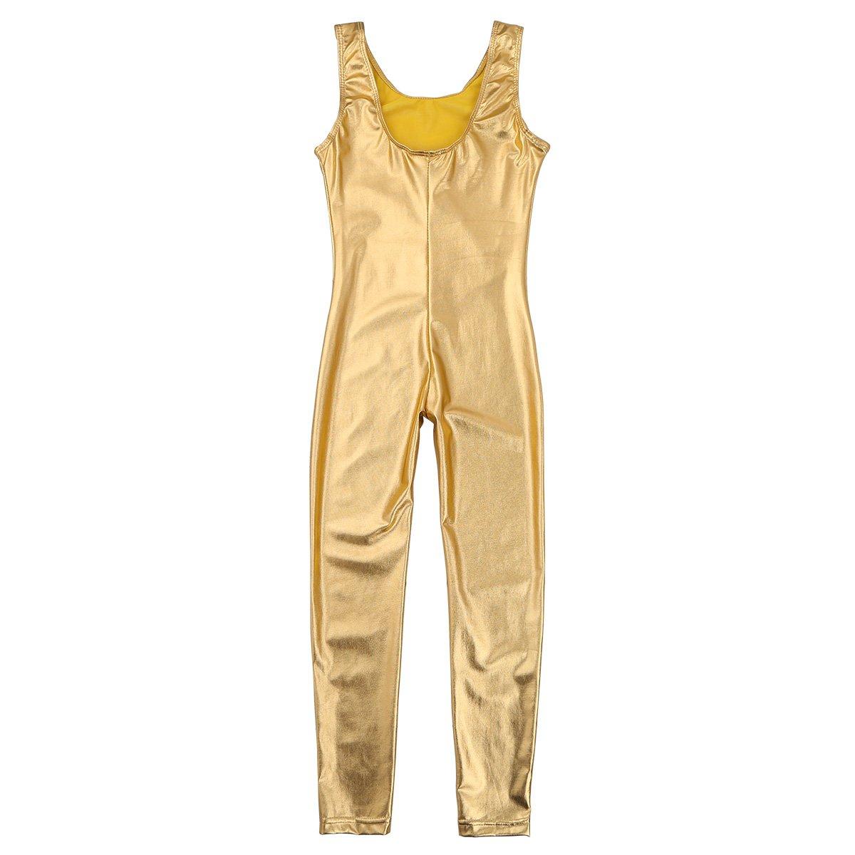 b8ca6ac23 Amazon.com  Alvivi Kid s Boys Girls Long Sleeve Unitard Jumpsuit ...