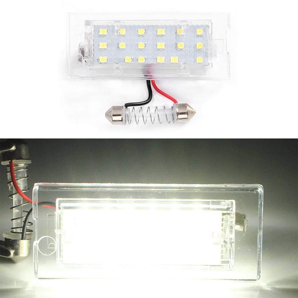 1 paire de feux de plaque dimmatriculation LED pour X5 E53 99-06 X3 E83 03-10 par WNZZ