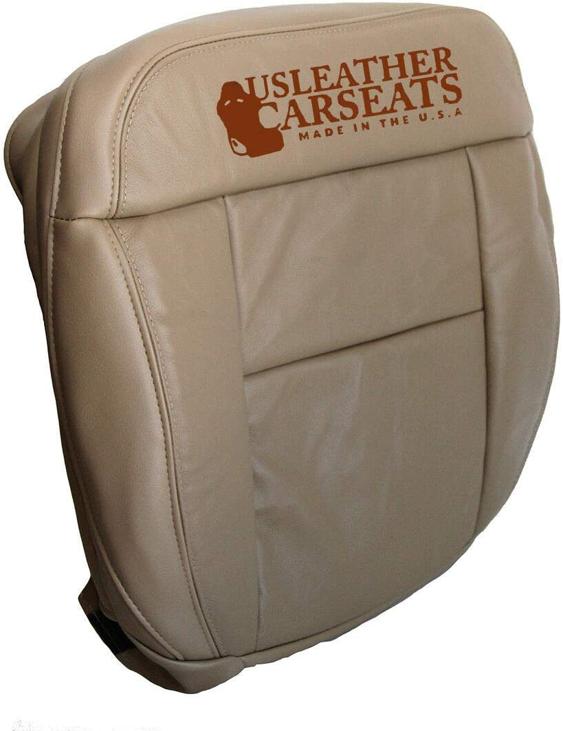 2001 2002 Ford F-150 Lariat SuperCrew F150 Driver Bottom Leather Seat Cover TAN