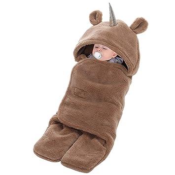 Amazon.com: Saco de dormir con capucha para bebé: Baby