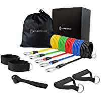 KoreHealth KoreTense Fitness Resistance Bands Strength Training Muscle Building Multi Home Workout Fitness Bands