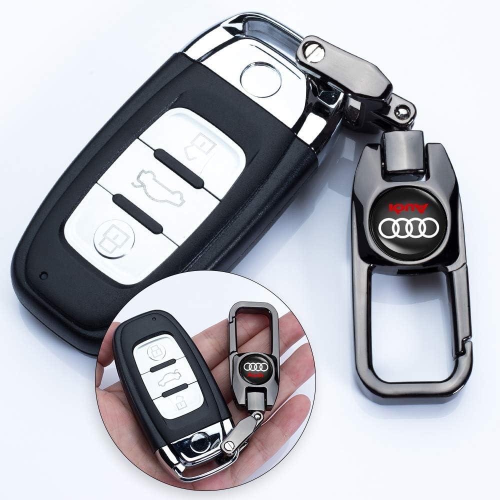 HEY KAULOR 5 Pcs Metal Car Wheel Tire Valve Stem Caps for Audi S