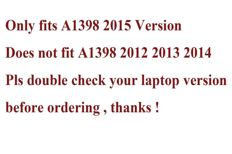 JinSheng Electronics Full LCD Screen Display Assembly for MacBook Pro Retina 15'' Mid2015 A1398 661-02532 by JinSheng Electronics (Image #2)