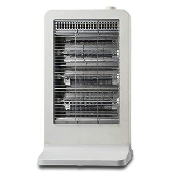 Heater LVZAIXI Pequeño Calentador Solar Hogar Infrarrojo lejano Fibra de Carbono Estufa de Tostado Baño Mudo Calefacción de bajo Consumo para Ahorrar ...