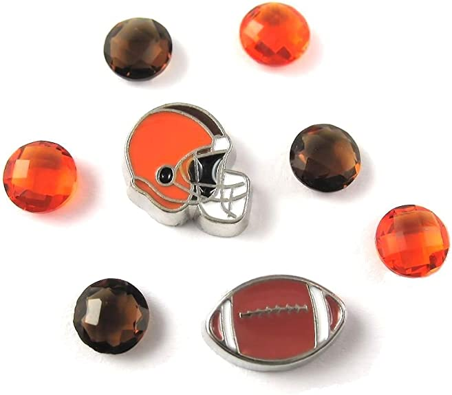 Soccer Ball Football Sports Theme Floating Charm For Our Glass Memory Lockets