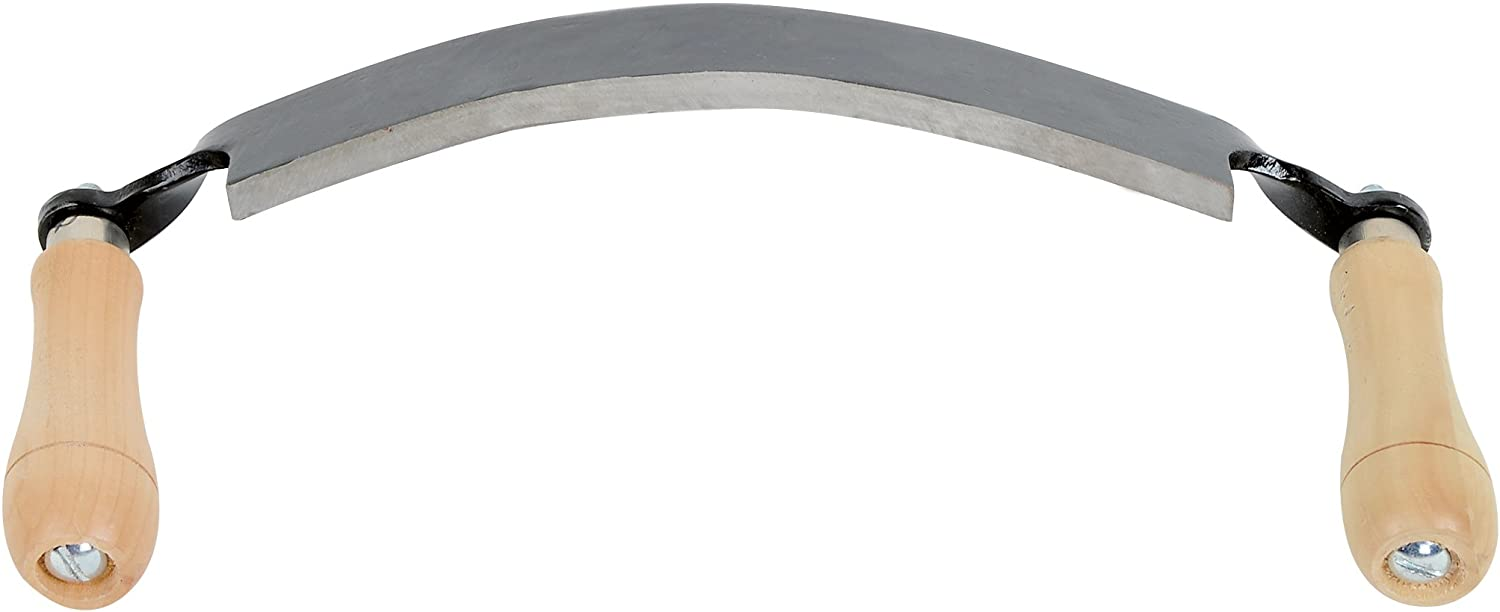 """Timber Tuff TMB-10DC Curved Draw Shave, 10"""""""