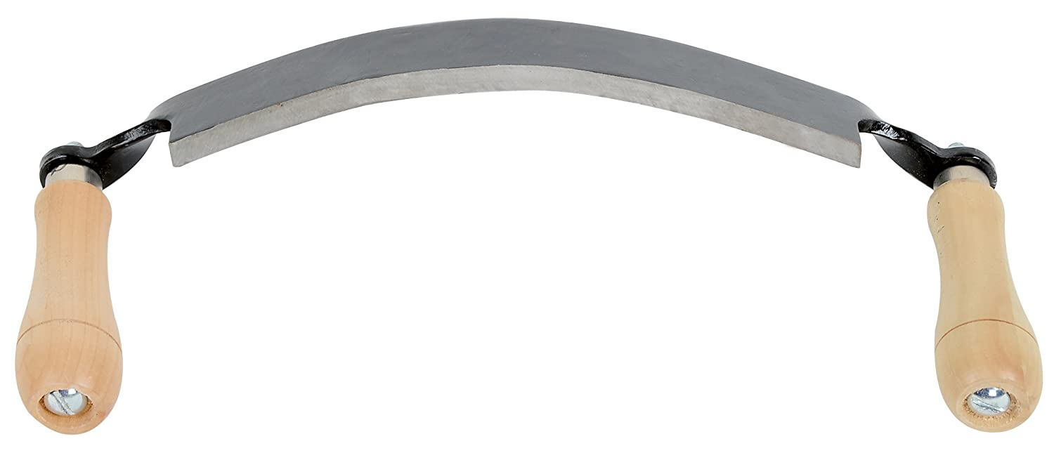 Timber Tuff TMB-10DC Curved Draw Shave, 10""