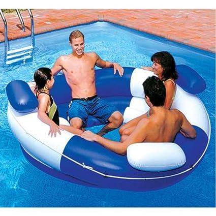 amazon com swimline sofa island lounger pool float toys games rh amazon com Aqua Pool Noodles Aqua Aircraft Floats