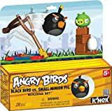 K'NEX Angry Birds Black Bird versus Small Minion Pig